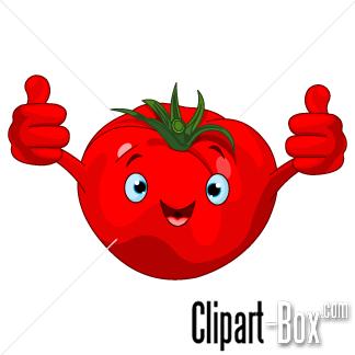 Clipart Tomato Cartoon Style Clip Art Cartoon Styles Vector Free