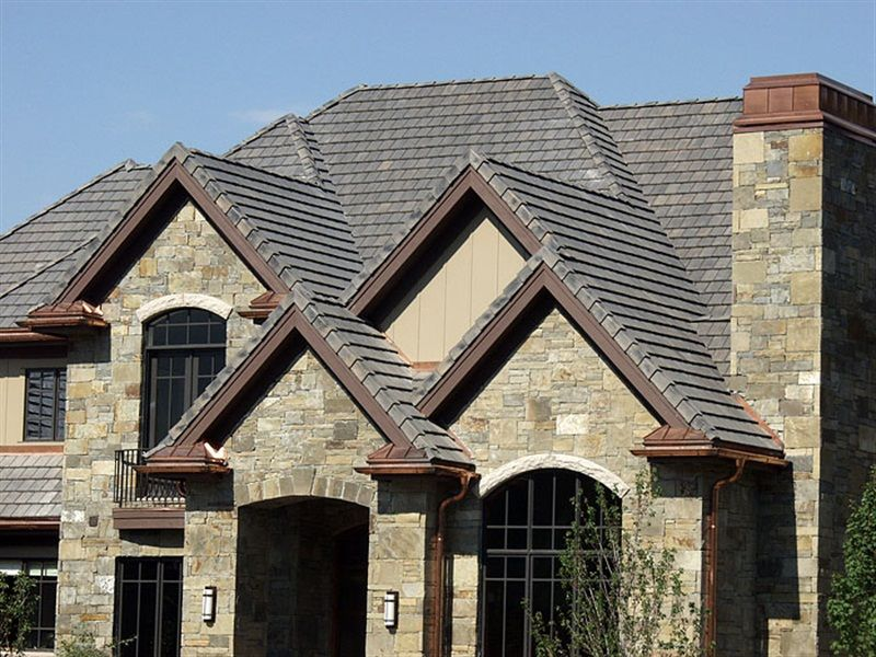 New England Slate Gallery House Designs Exterior Flat Roof Tiles Roofing