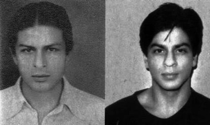 Side by side of Shah Rukh and his father Mir Taj Mohammed Khan ...