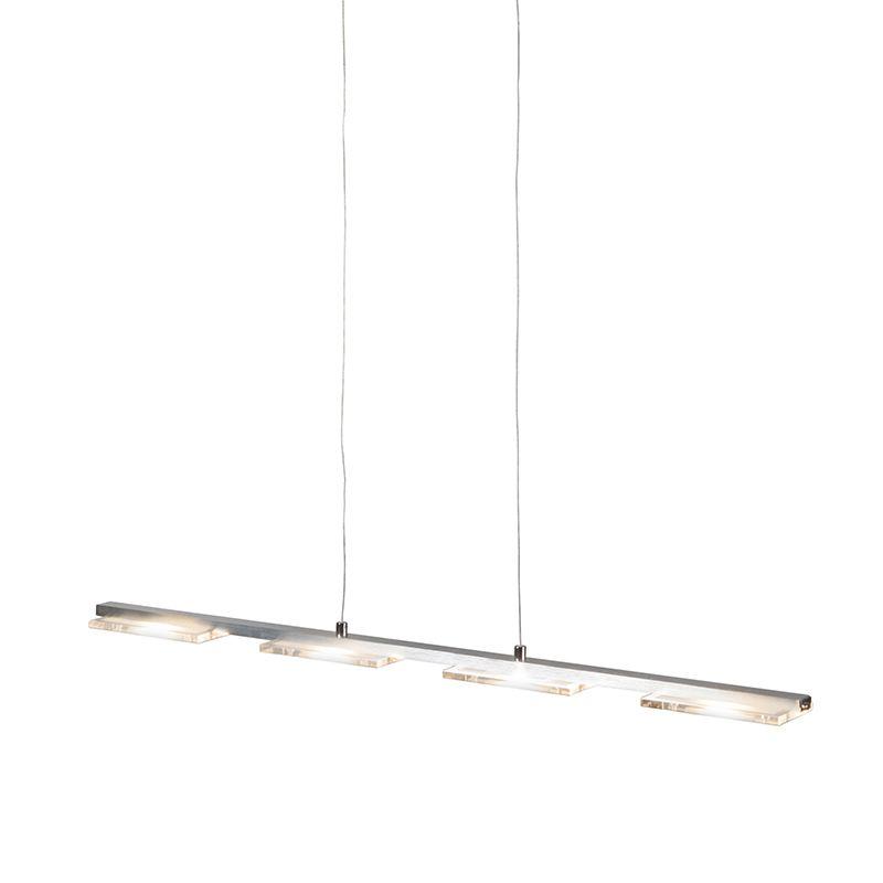 Pendelleuchte Vitro Stahl LED mit Dimmer Jetzt bestellen unter