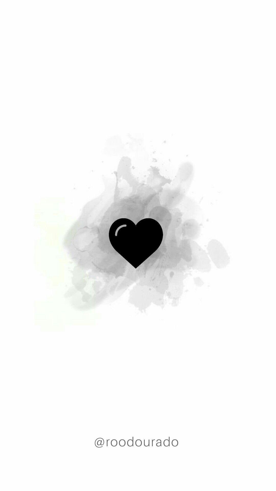 Storie Instagram template destaque Instagram coração Heart love ...