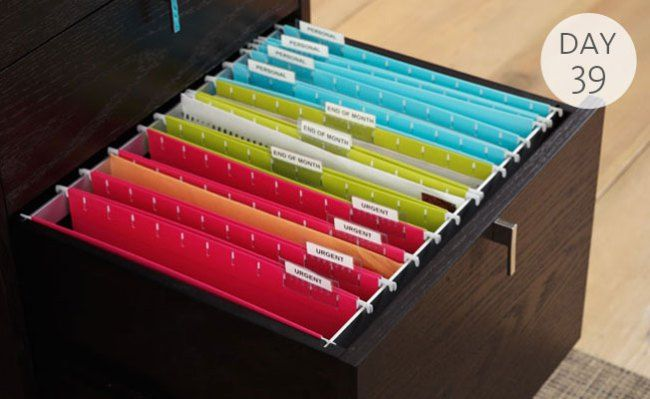 Home Office Organization Ideas Filing System
