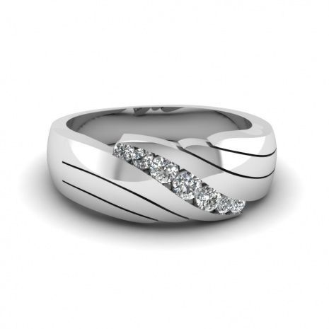 Mens Platinum Wedding Bands With Diamonds platinumjewelry