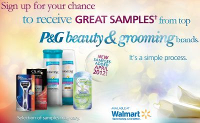 Get Free Samples Of P Products Pantene Olay Venus Gillette From P Brandsampler Beauty And Grooming Cana Free Samples Free Samples By Mail Get Free Samples