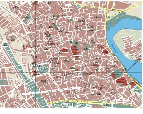 Mapa Callejero De Cordoba.Cordoba Planos Mapas Cordoba