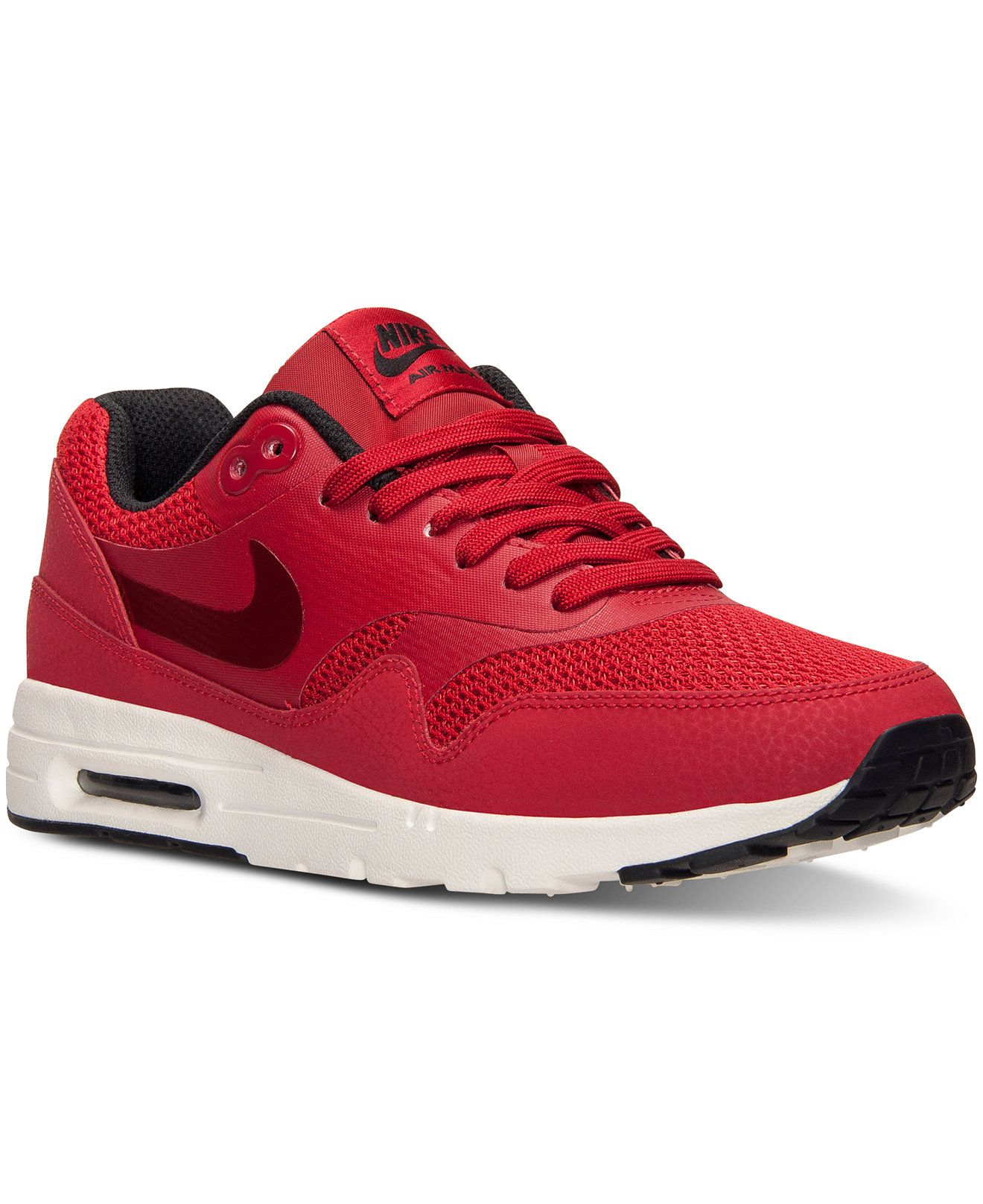 best service a8897 f76bd spain nike womens air max 1 ultra essentials running sneakers from finish  line finish line athletic