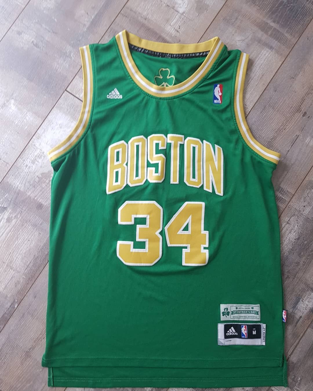4aa229afd Paul Pierce Boston Celtics Jersey Size Medium. 35 shipping. OPEN TO OFFERS  . . This Special Edition Adidas St Patrick s Day jersey is a really nice  piece ...