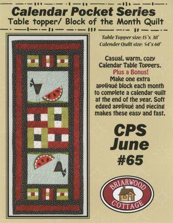 CALENDAR POCKET JUN. BC65