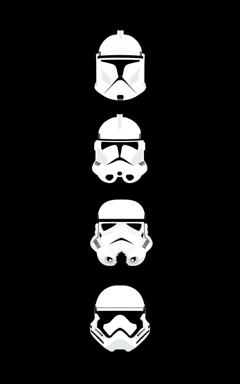 Stormtrooper Helmet Silhouette : stormtrooper, helmet, silhouette, José, López, Clones,, Stormtrooper,, Wallpaper, Iphone,, Background,, Helmet