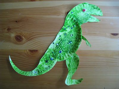 4 Crazy Kings Paper Plate Dinosaurs & 4 Crazy Kings: Paper Plate Dinosaurs | activities at english ...