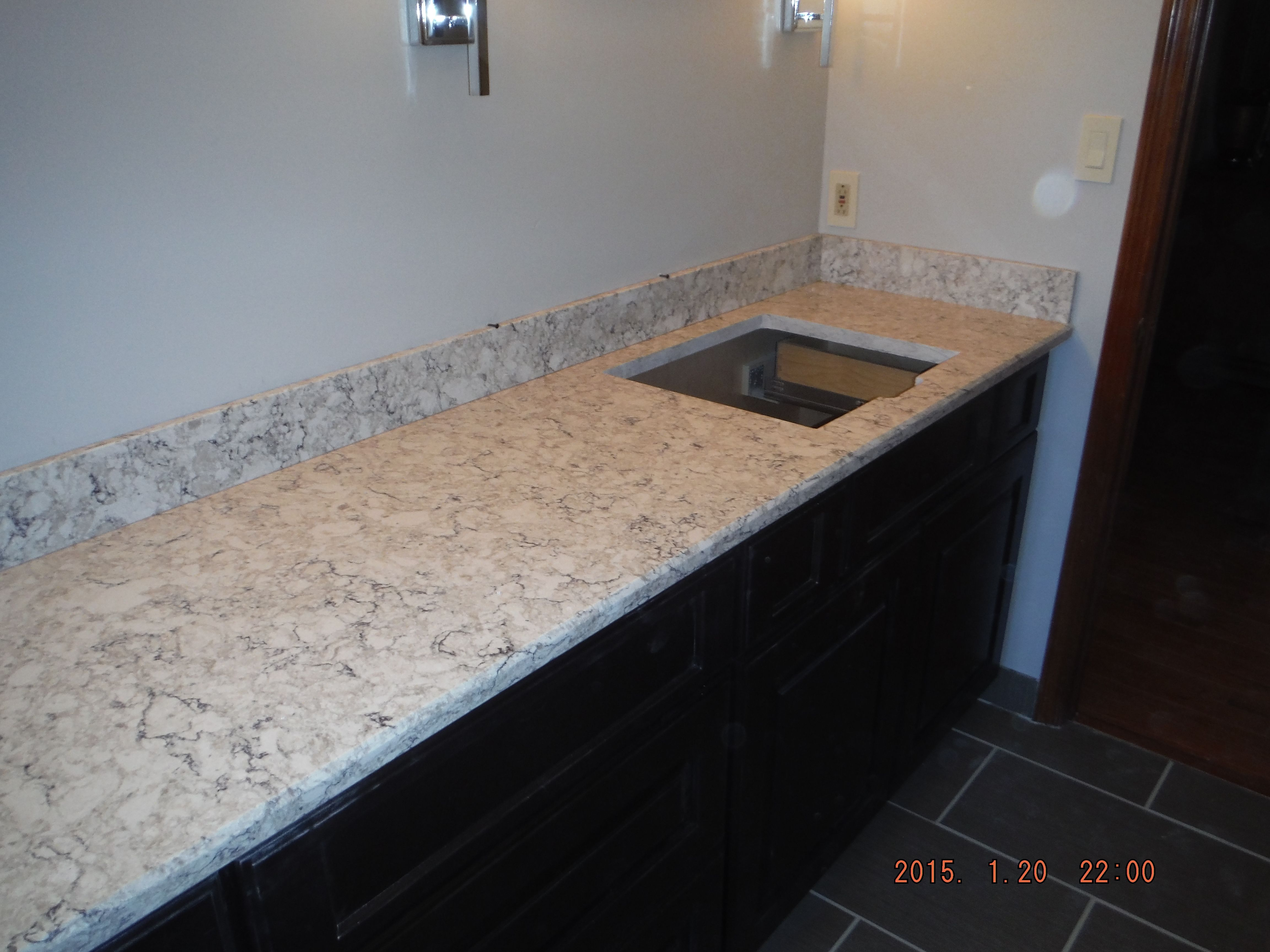 Lg Viatera Aria Quartz Kitchen Install For The Foster Family Knoxville 39 S Stone Interiors