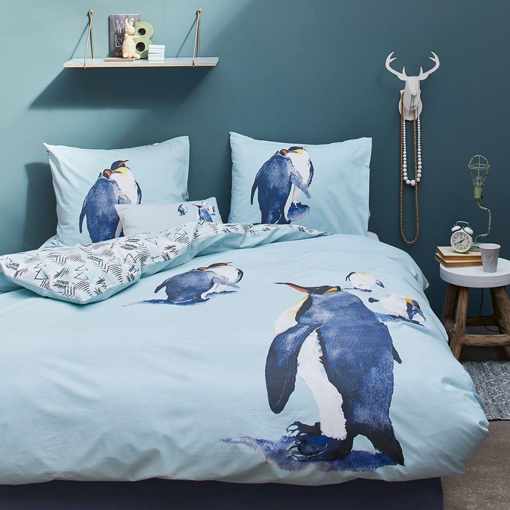 Covers Co Renforce Wendebettwasche Penguin In Reiner Baumwolle