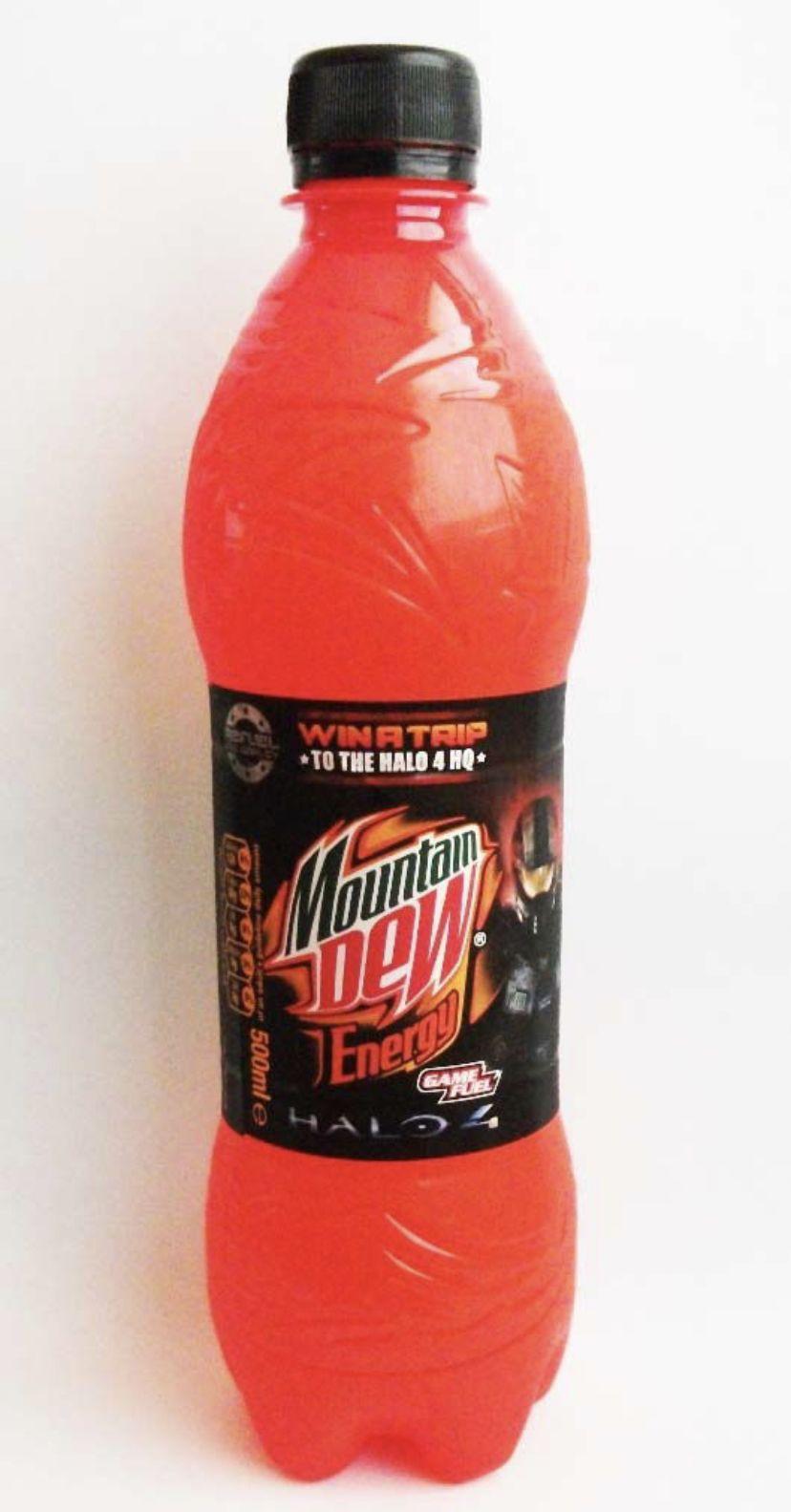 Mountain Dew Mountain Dew Soda Flavors Powerade Bottle