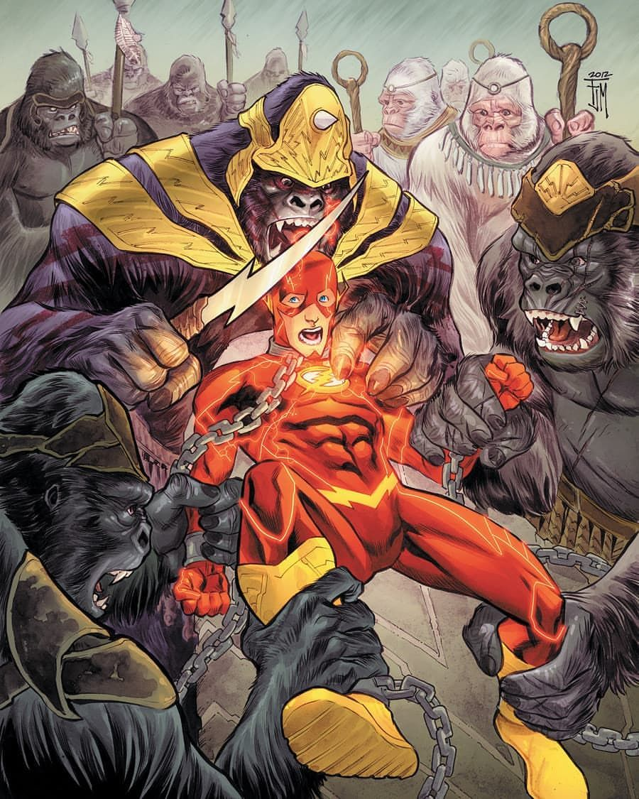 Who Is Your Favourite Flash Villain I Think Flash Has The Second Best Rogues Gallery In Dc After Batman From Gorilla Grodd To Cap Rogues Villain Dc Villains