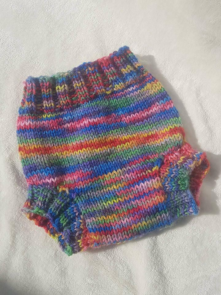 Knitted Nappy Soaker 100 Wool Nappy Soaker Baby Diaper Cover