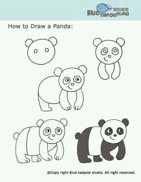 pin by lovest handmade on dibujos niños pinterest panda
