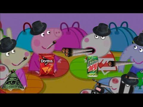Mlg Peppa Pig Fartstorm Youtube Peppa Pig Memes Peppa Pig
