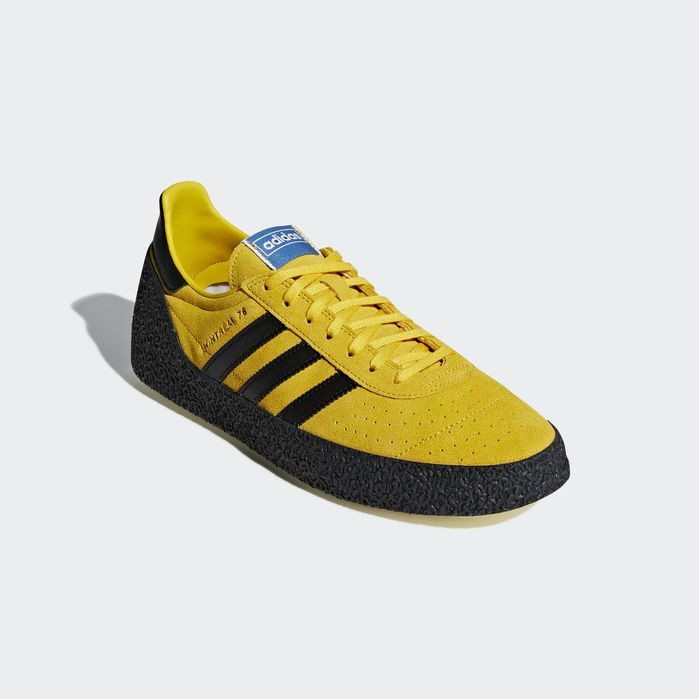 Montreal 76 Shoes Gold 10.5 Mens in 2019 | Products | Adidas