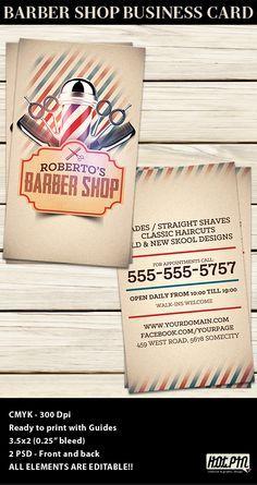 Barber Shop Business Card Template Barber Shop Card Templates - Barber shop business card templates