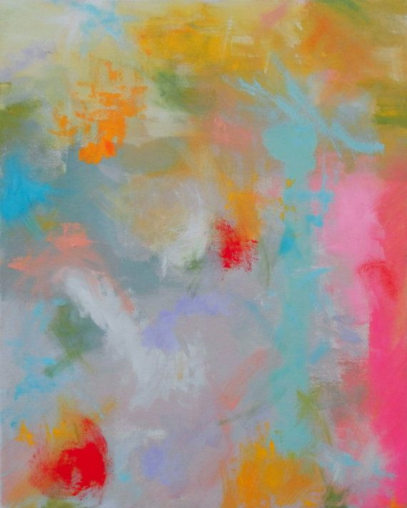 Abstract Painting Expressionist Original Canvas by AndrewOrtonArt