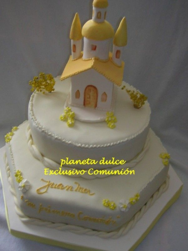 tortas de comunion decoradas