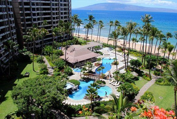 Kaanapali Alii And Beach Maui