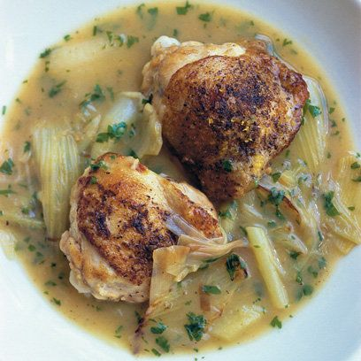 Nigel Slater's Chicken with Fennel and Leek | I cooked this on Monday night and it rocks.