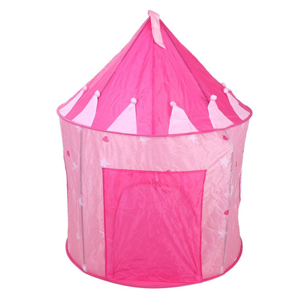 OutMall Kids Play Tent Indoor/Outdoor Pink Princess Castle Play Tent with Glow in  sc 1 st  Pinterest & OutMall Kids Play Tent Indoor/Outdoor Pink Princess Castle Play ...