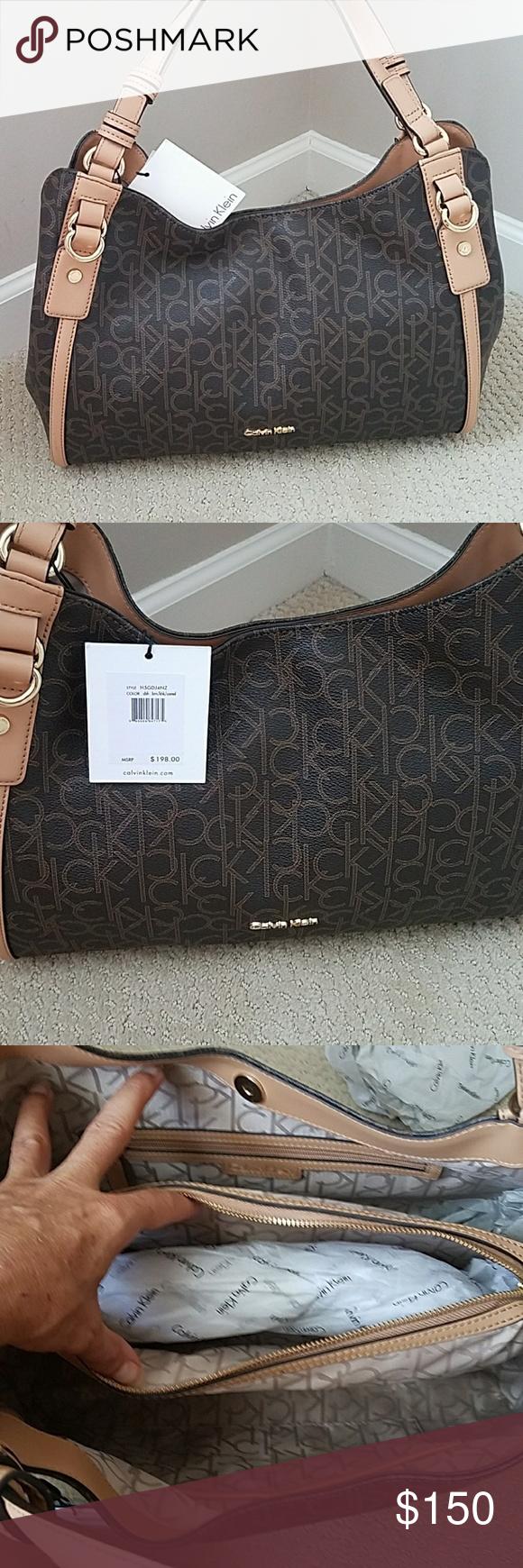 ef111b0f2e CK Purse👜 Final👇 Beautiful brand new satchel handbag monogram purse! Can  wear over shoulder or on arm. 13