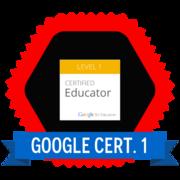 Google Certified Educator (Level 1)