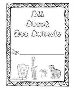 All things zoo from Kindergarten Hoppenings...LOVE her
