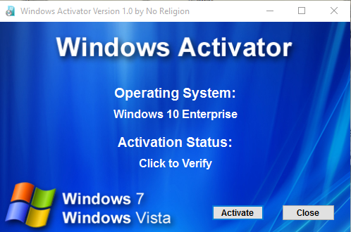 free windows activator 7