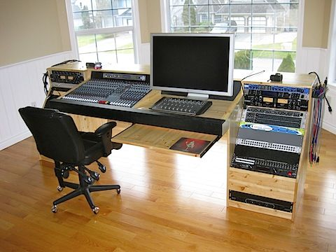 Image Result For Diy Recording Console Stand Studio