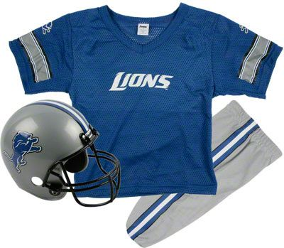 youth detroit lions football helmet