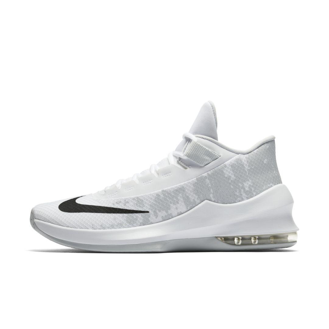 d89a7ed1dc8 Nike Air Max Infuriate 2 Mid Basketball Shoe Size 11.5 (White ...