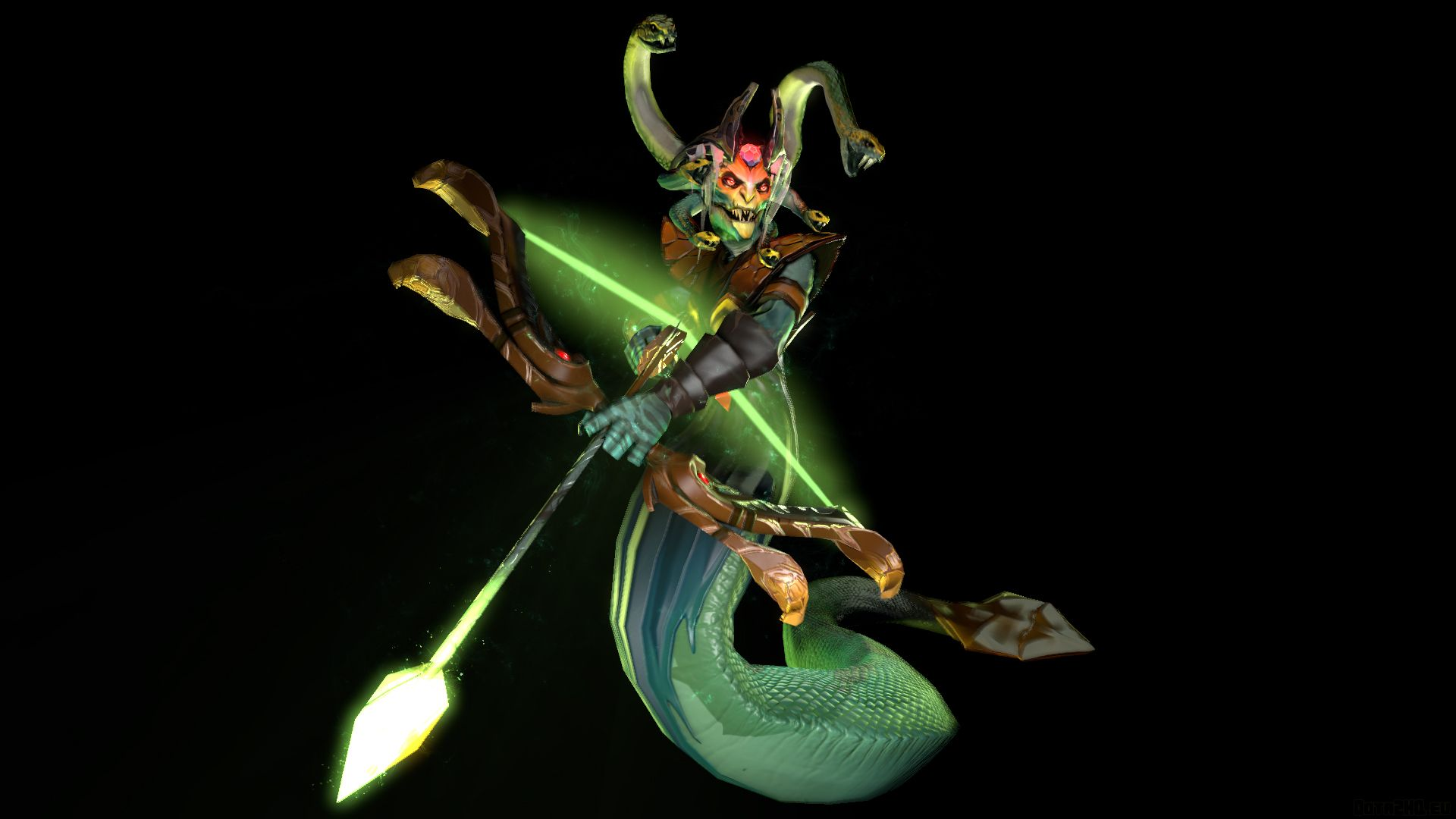 Stunning Medusa 3d Art Dota 2 69 HD Anime Wallpaper