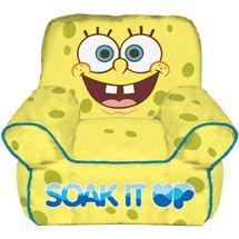 Walmart Nickelodeon SpongeBob SquarePants Toddler Bean Bag Chair
