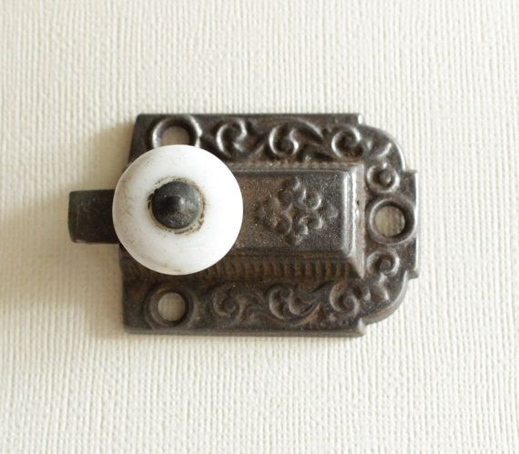 Vintage Latch Victorian Cabinet Hardware By EssexStreetAntiques | Cozy Home  Stuff | Pinterest | Cabinet Hardware, Hardware And Victorian