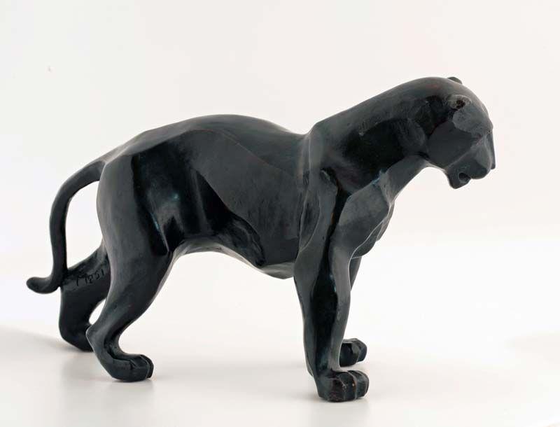 pantera i panthere pinterest panth re sculpture et animal. Black Bedroom Furniture Sets. Home Design Ideas