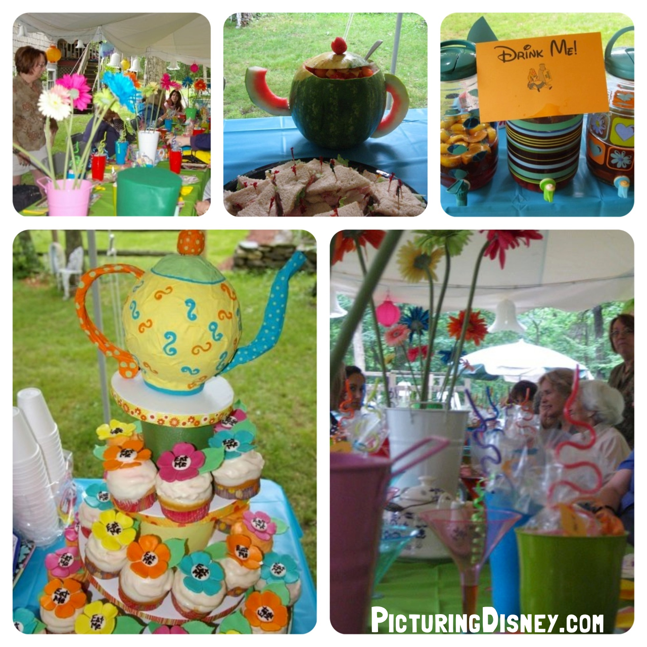 Beautiful Picturing Disney: Alice In Wonderland Themed Baby Shower Games!