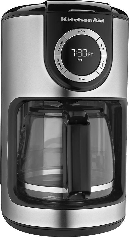 Kitchenaid 12 Cup Coffeemaker Onyx Black Kcm1202ob