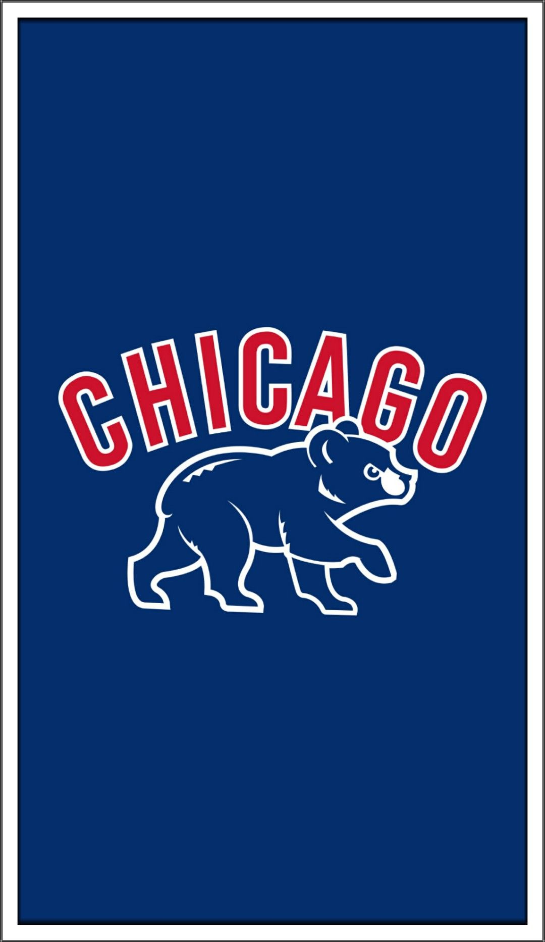 Chicago Cubs Walking Bear Chicago Cubs Wallpaper Mlb Chicago Cubs Chicago Cubs Baseball [ 1865 x 1080 Pixel ]
