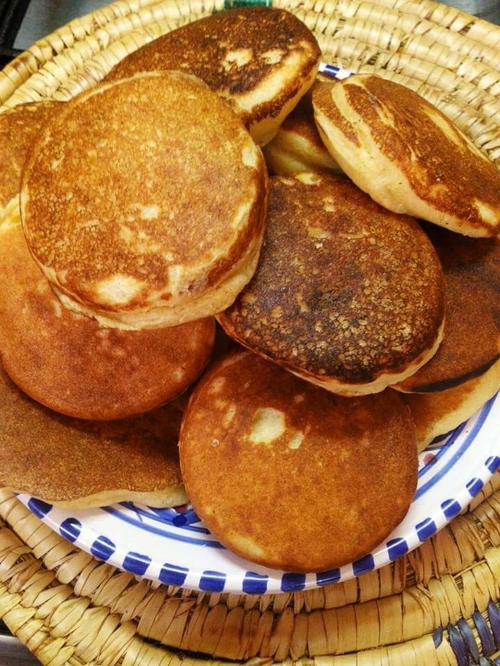 """""""Harcha""""Galette de semoule façon  pancake"""