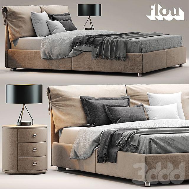 Кровать flou Letto Nathalie | модели с 3ддд | Pinterest | Furniture ...