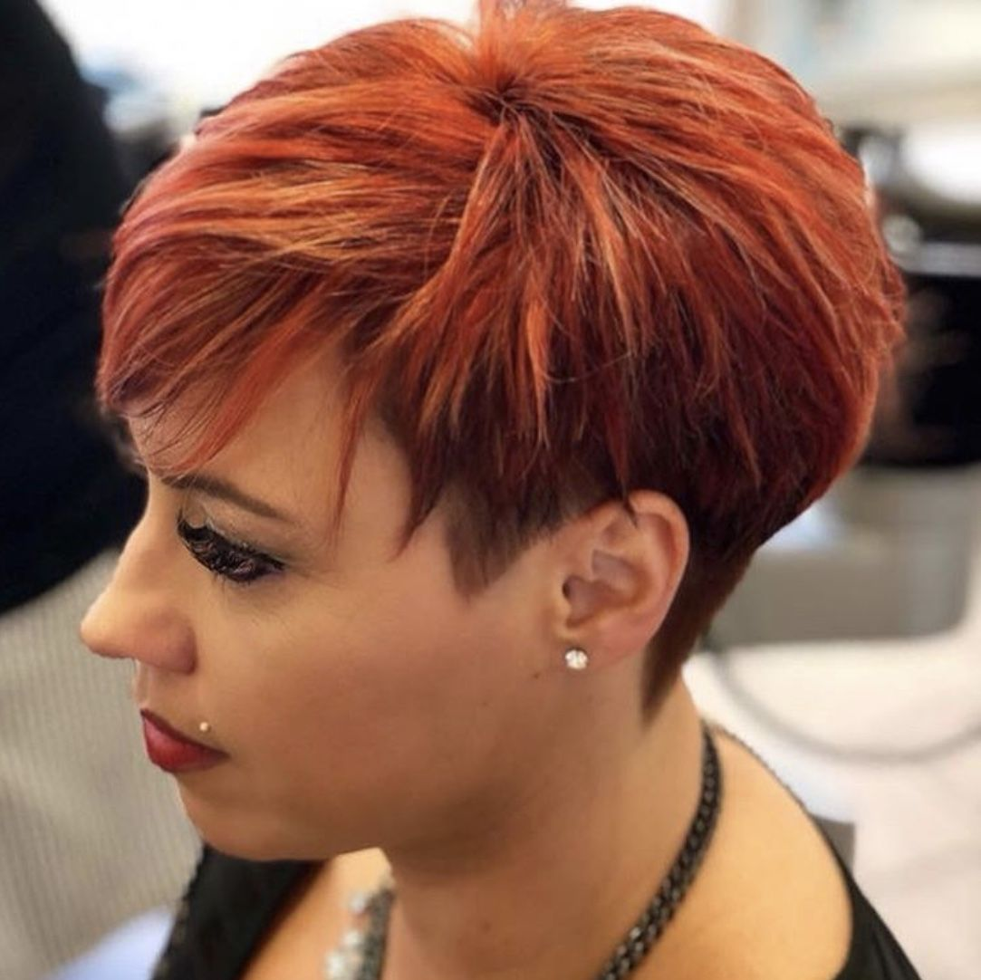 pin von kerstin burlage auf frisur | kurze haare kupfer