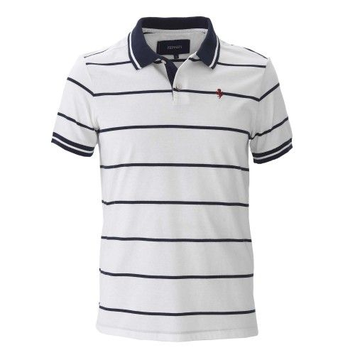 Men s Ferrari Cavallino Rampante Striped Polo Shirt  ferrari  ferraristore   vacation  holiday   a55c1c09ce680