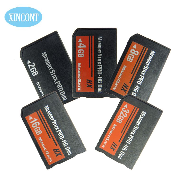 PSP Memory Cards 2GB 4GB 8GB16GB 32GB Free Shipping Stick Pro Duo For