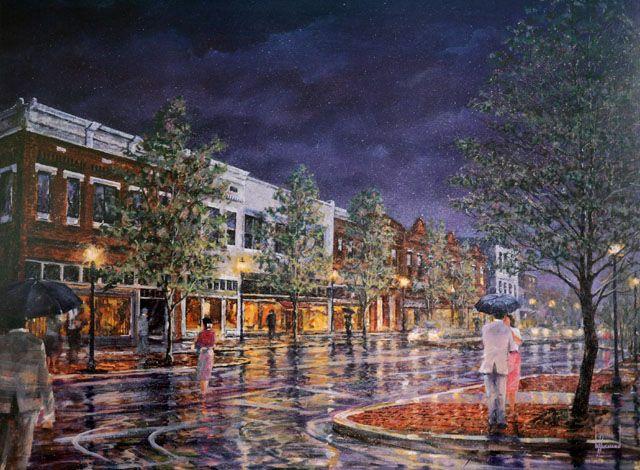 Bank Street Decatur Al Larry Strickland Southern Art