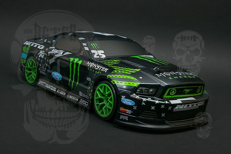 Monster Energy Mustang Rc Drift Car Monster Energy Wheelzz