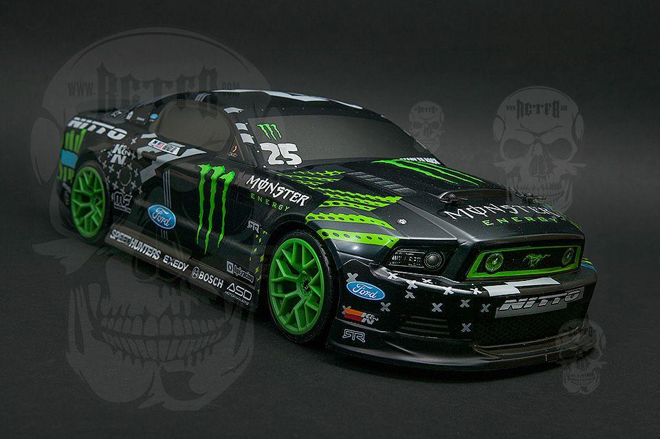 Monster Energy Mustang Rc Drift Car Hoonigan Wheelzz
